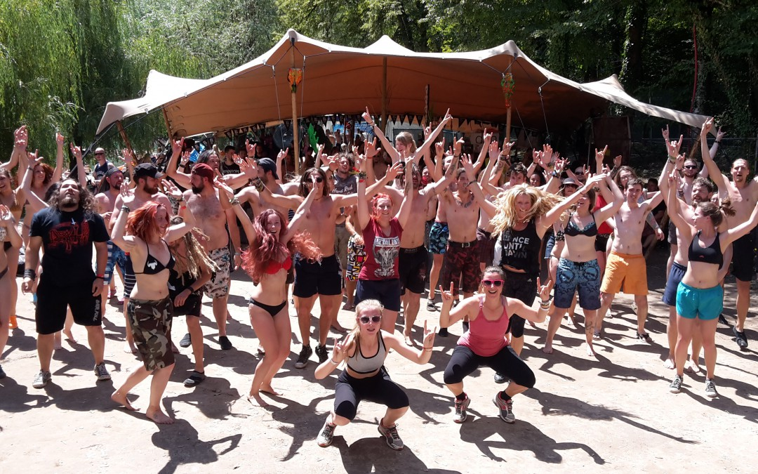 METALZA begeistert Metalheads bei den Metaldays in Tolmin