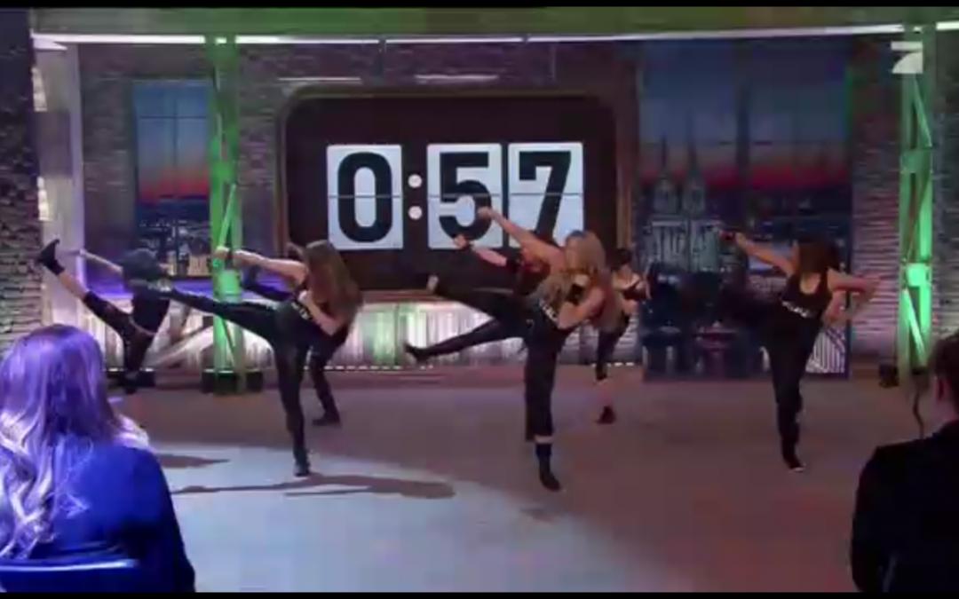 METALZA – Headbanging beim SAT 1 Frühstücksfernsehen und Pro7-Show 1.30